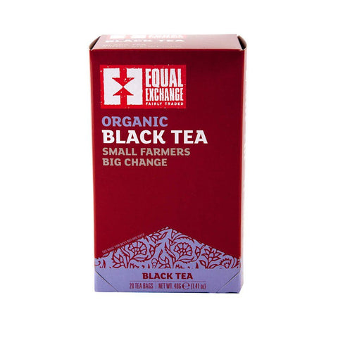 Equal Exchange Organic Black Tea, 20 Count