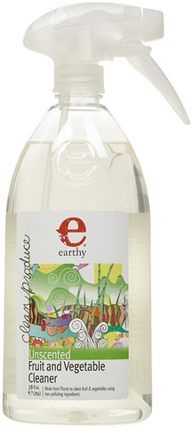 Earthy Clean Produce Fruit & Vegetable Cleaner, 28 Fluid Ounce