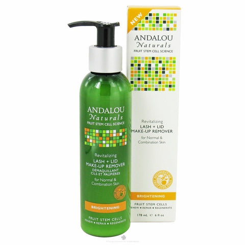 ANDALOU NATURALS MAKE-UP REMOVER,LASH+LID, 6 OZ