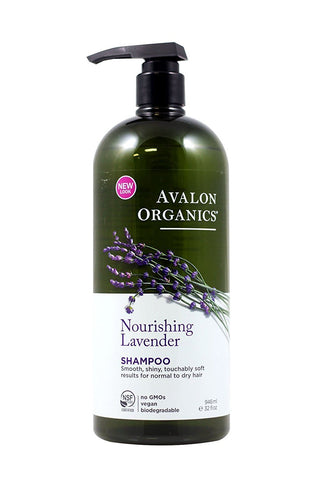 AVALON ORGANIC BOTANICALS Shampoo Organic Lavender - Nourishing Value Size 32 oz