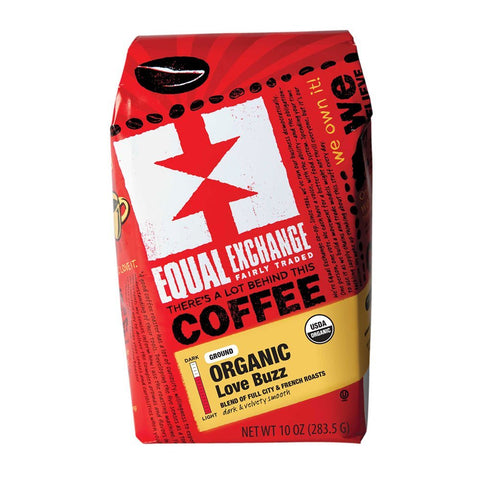 Equal Exchange Love Buzz Blend Organic Coffee Ground
