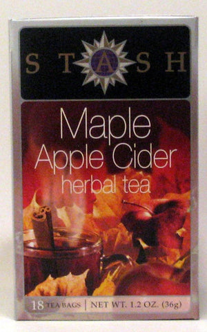 Maple Apple Cider Herbal Tea Stash Tea 18 Bag