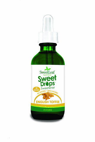 Sweet Drops Liquid Stevia, English Toffee, 2 Ounce