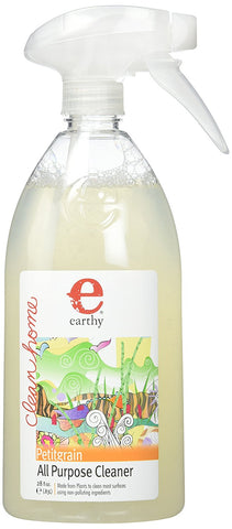 Earthy All Purpose Natural Cleaner, Petitgrain, 28 Ounce