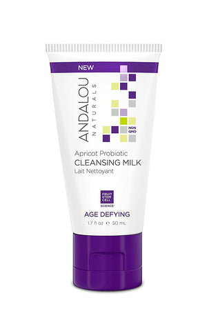 Andalou Naturals Cleansing Milk Apricot, 1.7 Ounce, 6 Count