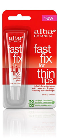 Alba Botanica Fast Fix for Thin Lips, 0.25 Ounce