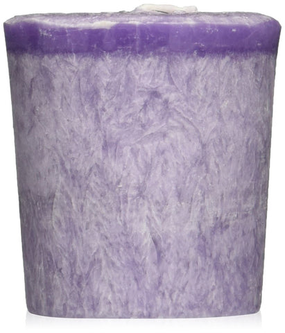 Aloha Bay Votive Eco Palm Wax Candle, Lavender Hills, 2 Ounce