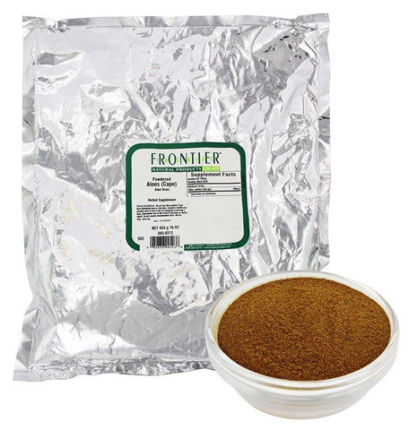 Aloes Cape Powder - 1 lb,(Frontier)
