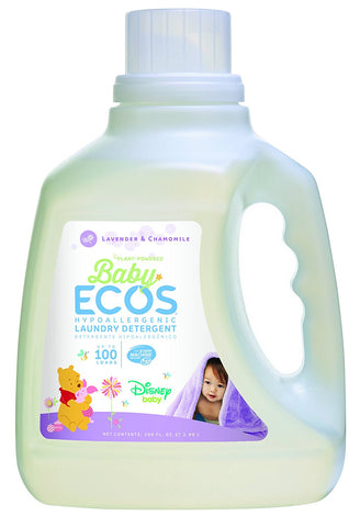 Earth Friendly - Baby Ecos Hypoallergenic Laundry Detergent 50 to 100 Loads