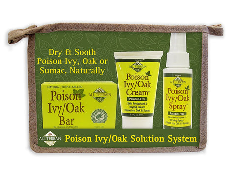 All Terrain Poison Ivy/Oak Solution System, 3 Count