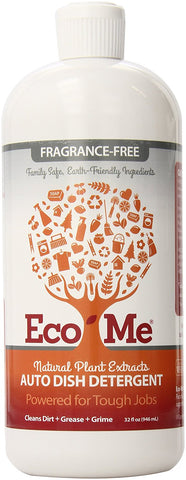 Eco-Me Auto Dishwasher Detergent Fragrance Free