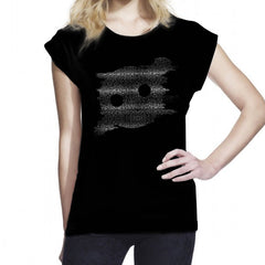 Womens Static Rolled Sleeve Tee