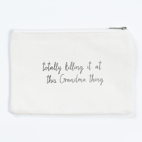 Killing it Cosmetic Bag- Grandma
