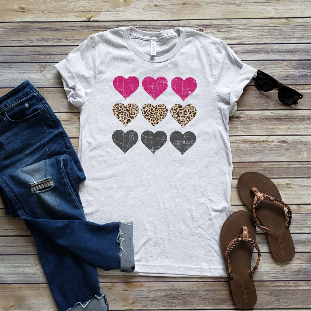 9 HEARTS LEOPARD