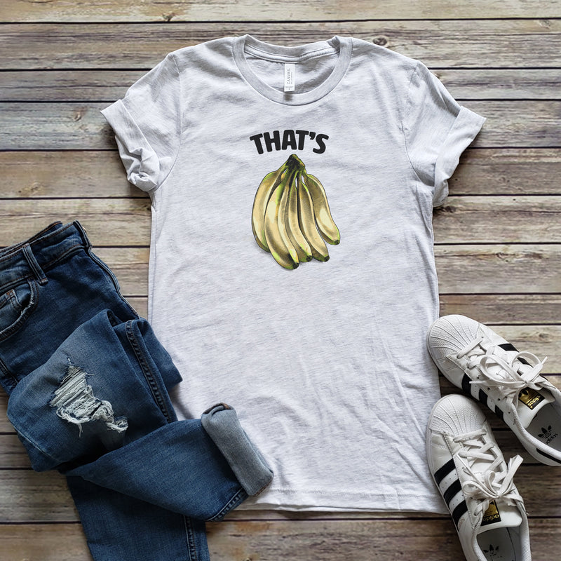 Ash That's Bananas Unisex Short Sleeve Tee