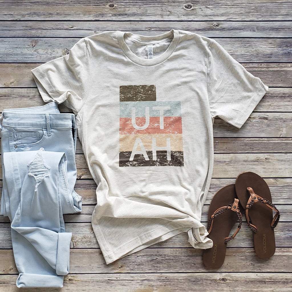 Natural State of Utah Short Sleeve Tee