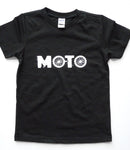 UNISEX YOUTH TEE | MOTO | Black
