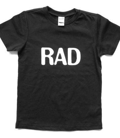 UNISEX YOUTH TEE | RAD | Black