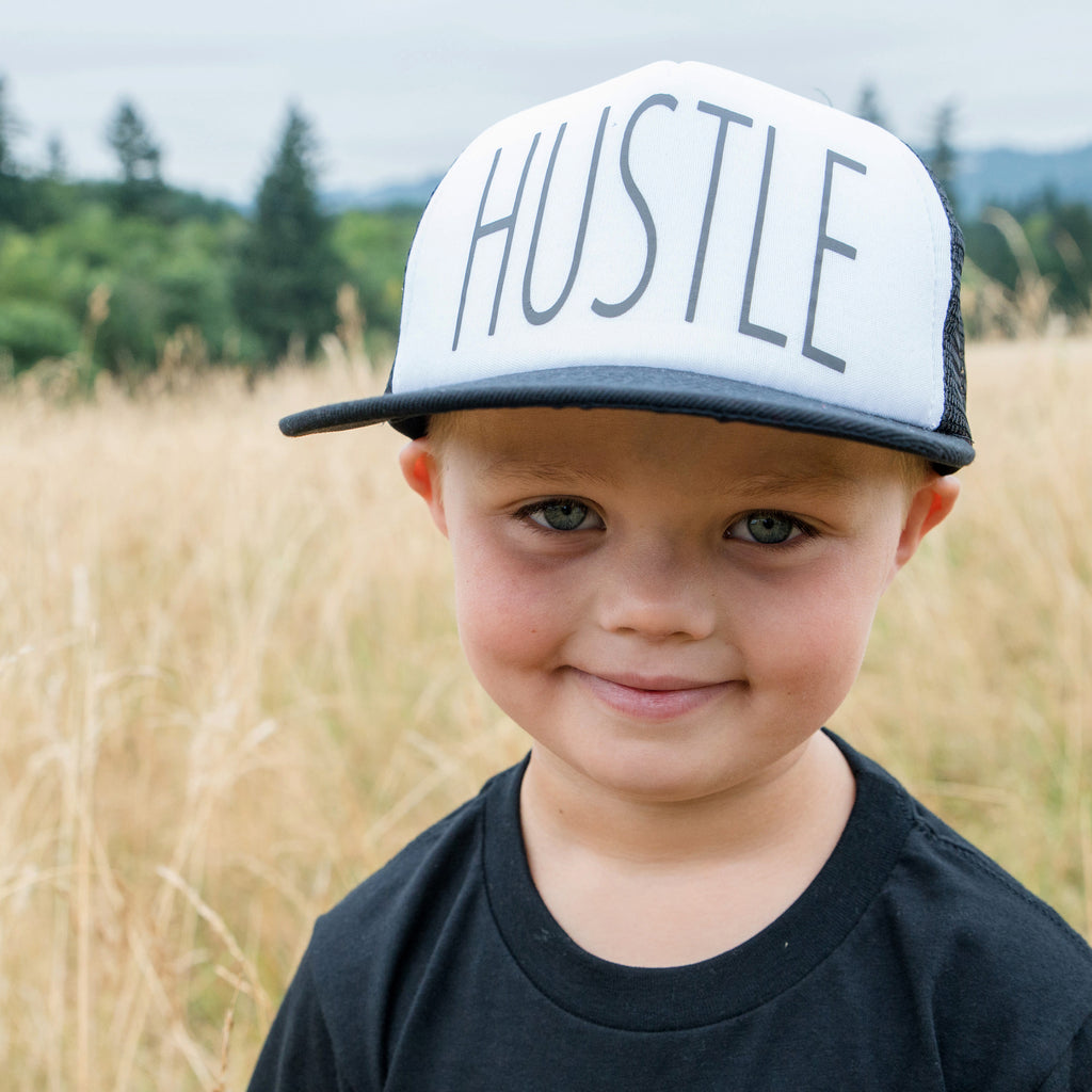 MESH BACK HAT | Hustle | Flat Bill