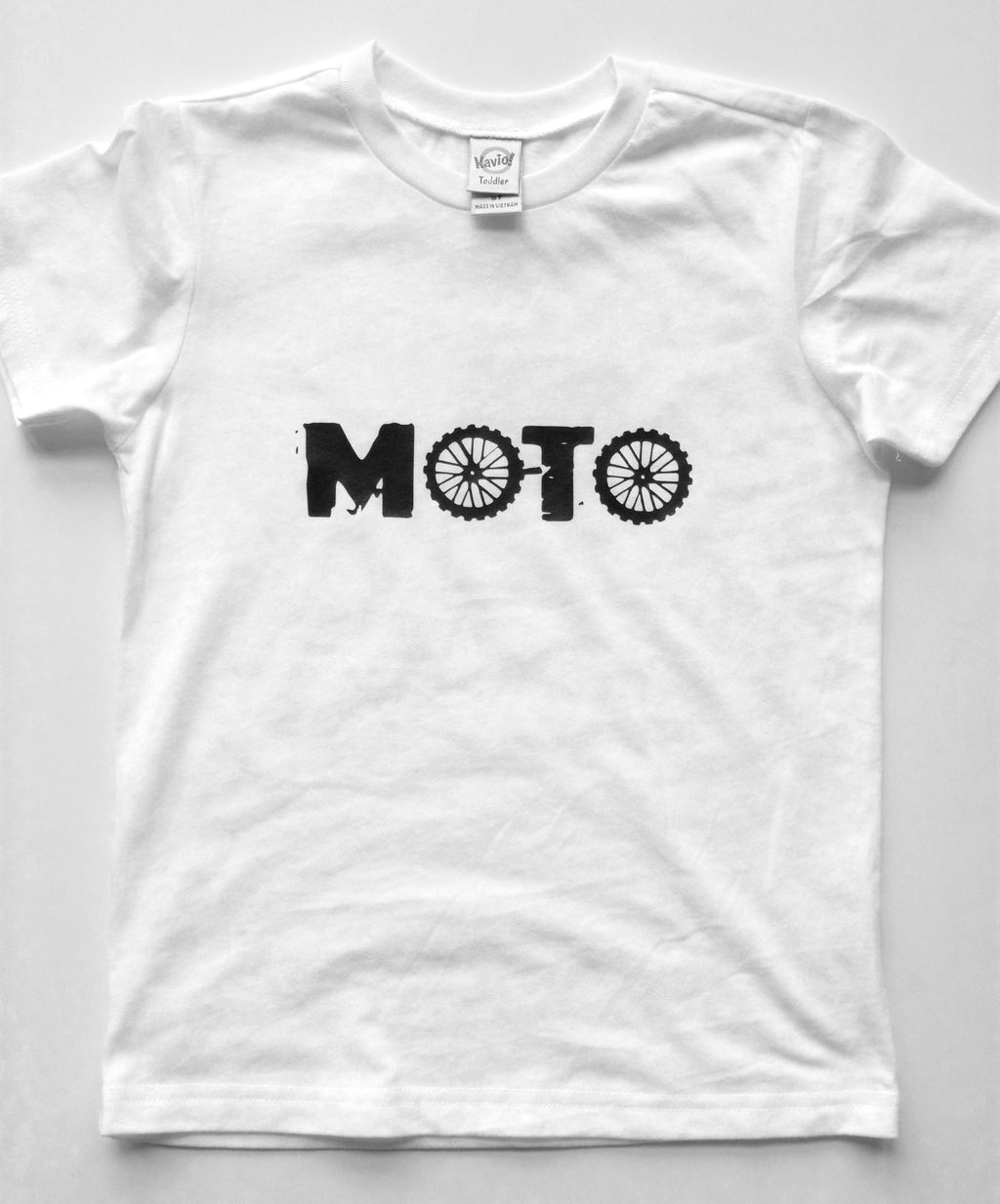 UNISEX YOUTH TEE | MOTO | White