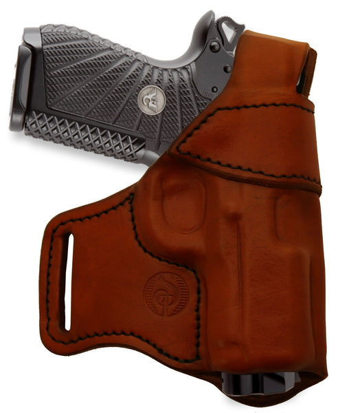 Holster with thumb break