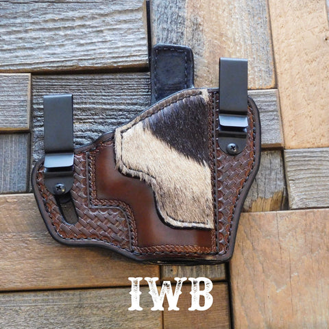Exotic leather holster