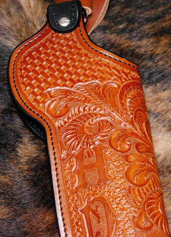 leather holster for howdah