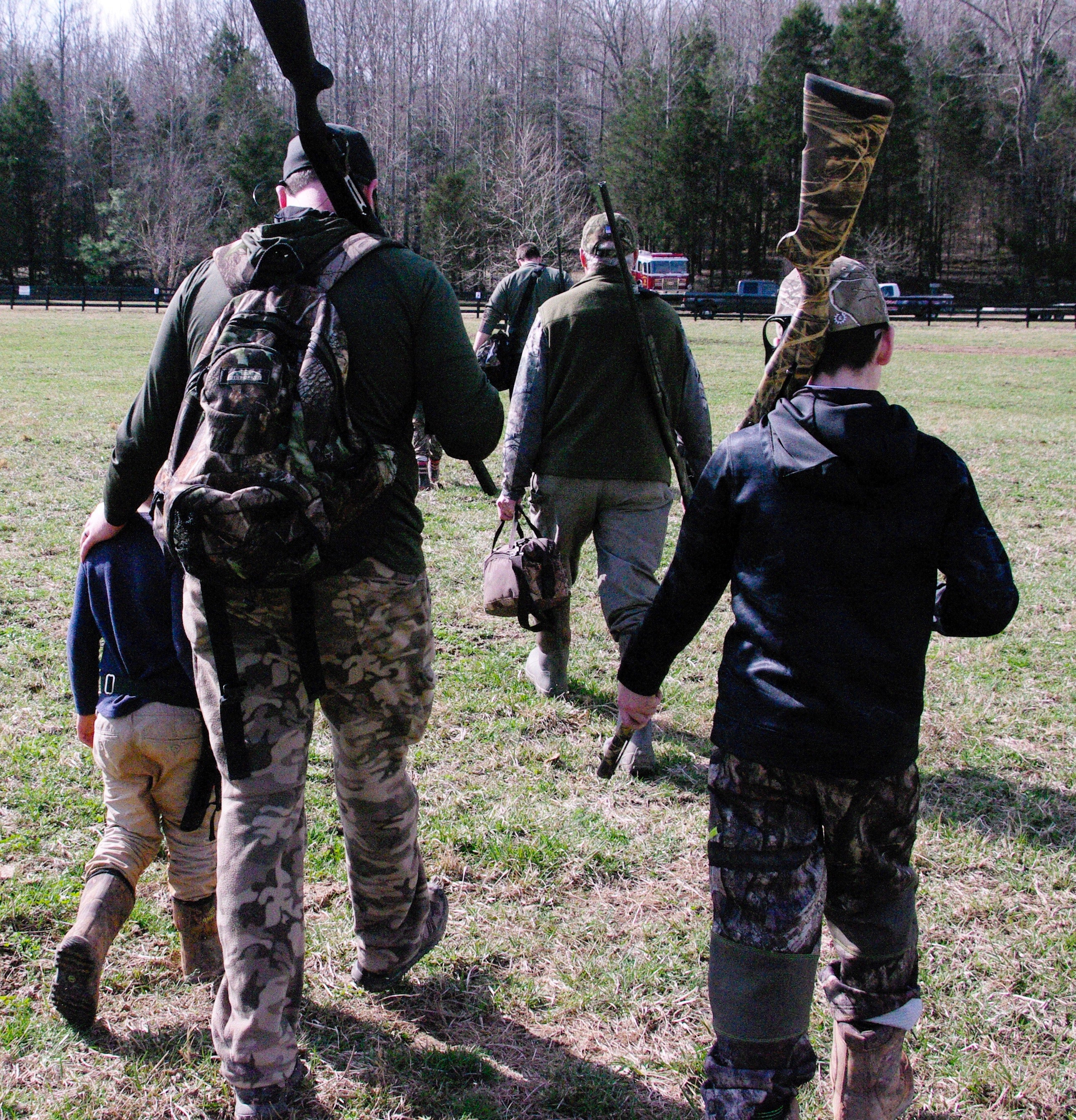 Family hunting Tennessee