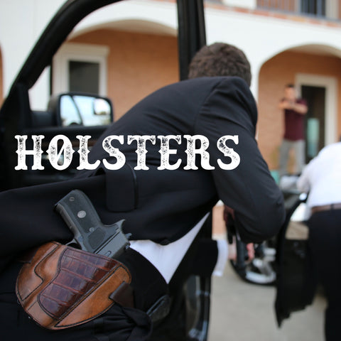 Alligator handgun holster