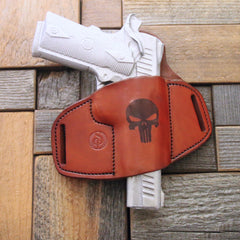 Custom leather holster
