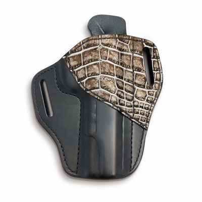 Alligator skin holster