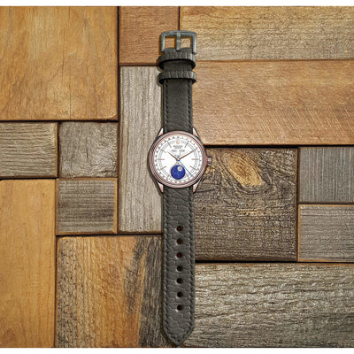 Beaver tail watch strap