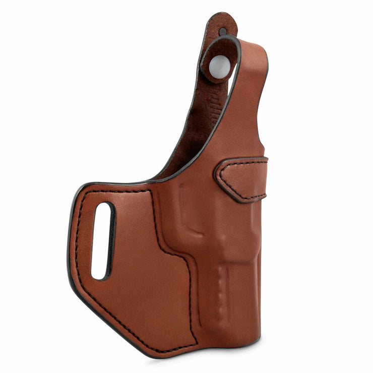 cross draw leather holster for 1911