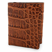 Alligator wallet tri fold