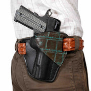 Two-Tone Alligator 1911 Holster