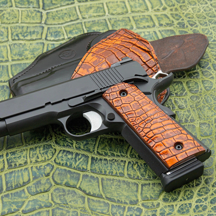 "The ""Red Clay Ranger"" Alligator Holster"