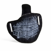 Alligator leather holster