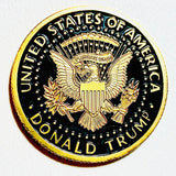 Donald Trump In God We Trust Token