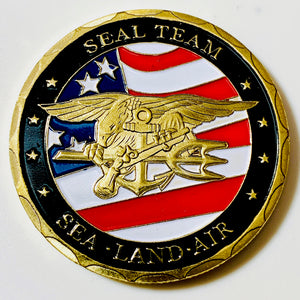 United States Navy SEAL Challenge Coin