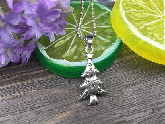 Christmas Tree Fashion Necklace - Synonyco.com