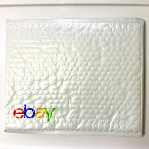 "QTY 100 eBay-Branded Padded Airjacket With Multi-Color Print 6.5"" x 9.25"""