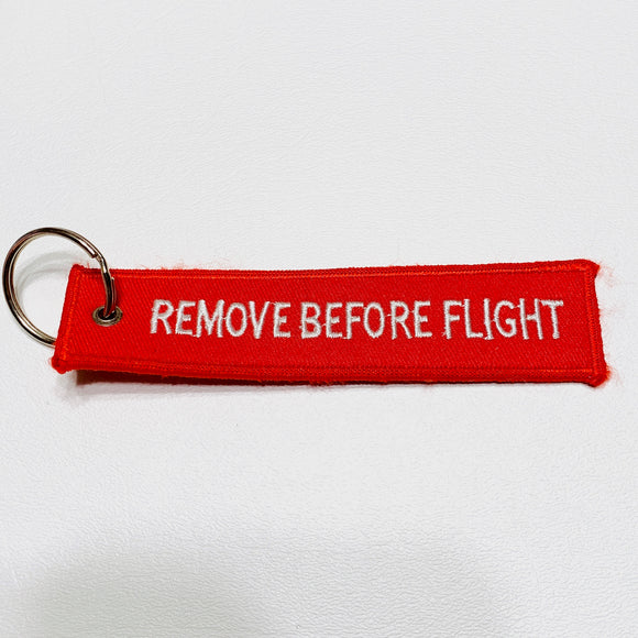 Remove Before Flight Embroidered Tag - Synonyco.com