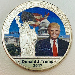 2017 Trump 45th President Coin