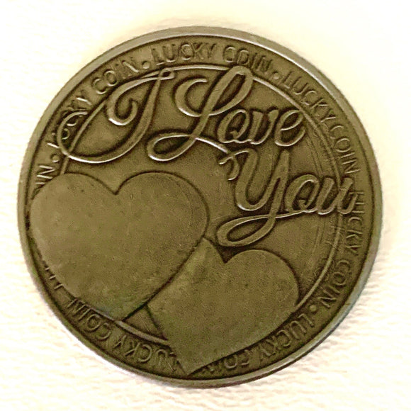 I Love You Commemorative Lucky Coin