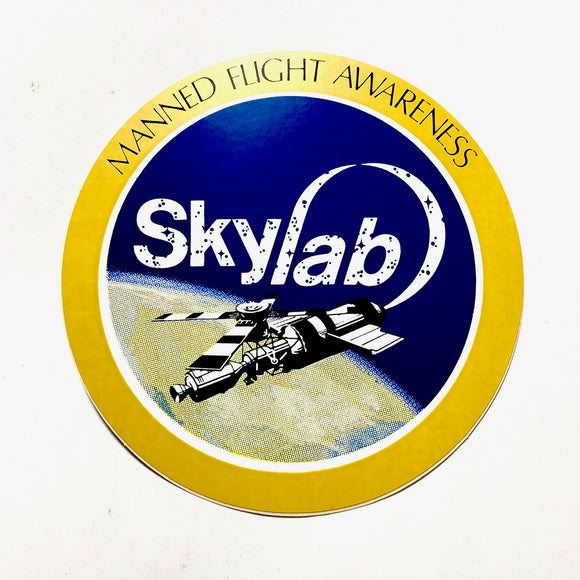 NASA Skylab Retro 3.5 Inch Decal - Synonyco.com