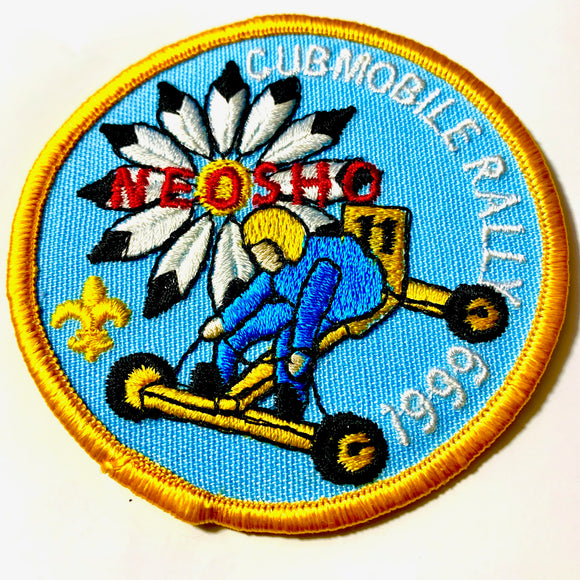 1999 Neosho Cubmobile Rally Scout Patch - Synonyco.com