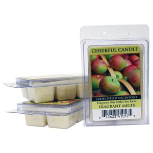 A Cheerful Giver Fresh Peeled Macintosh Melts, 6 Count - Synonyco.com