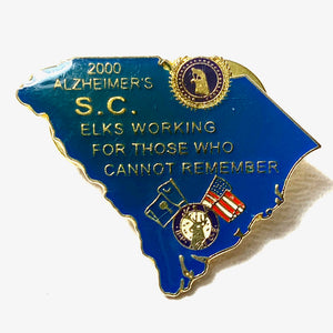 Elks Working For Those Who Cannot Remember Pin