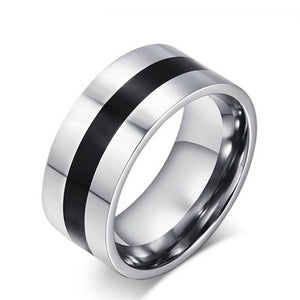 9mm Stainless Steel Band Ring - Synonyco.com