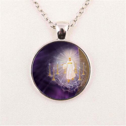 Jesus Cabochon Fashion Necklace - Synonyco.com